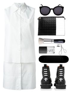 """Alexander wang layered shirtdress"" by thestyleartisan ❤ liked on Polyvore featuring Alexander Wang, NARS Cosmetics, Karen Walker, Givenchy, shu uemura, women's clothing, women, female, woman and misses"