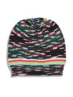 MISSONI Cashmere-Blend Knit Beanie. #missoni #beanie