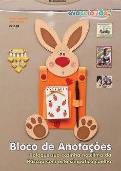 coelhinho Easy Easter Crafts, Bunny Crafts, Easy Crafts, Diy And Crafts, Crafts For Kids, Kindergarten Crafts, Preschool Crafts, Foam Crafts, Paper Crafts