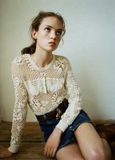 classicmodels: Adrienne Jüliger By Matteo Montanari For Twin #12 Spring / Summer 2015
