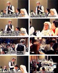 Niall's speech at Greg and Denise's wedding lmao