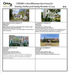 Check out the rest of our open houses this weekend!