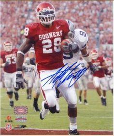 Adrian Peterson Autographed 8x10 Photograph - Oklahoma Sooners - Sports Memorabilia  Oklahoma Softball d517c1a05