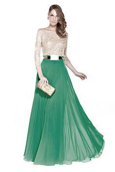 Adoro saia e corpete diferentes!    vestidos de festa - Pesquisa Google