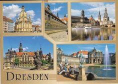 Beautiful Travel Postcard: Dresden / Germany