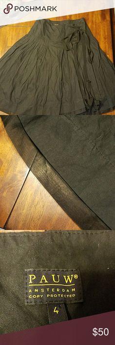 PAUW Amsterdam wrap around skirt Wrap around skirt. Great condition! Hardly worn. Size 4 EUR. Size 12 US. Skirts Midi