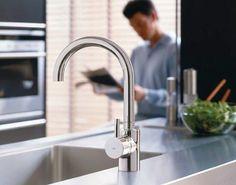 Robertson Ideal Standard Solo Mini Kitchen Mixer for your bathroom tapware Kitchen Mixer, Mini Kitchen, Bathroom Tapware, Next Bathroom, Grey Kitchens, American Standard, Kitchen Fixtures, Amazing Bathrooms, Minis