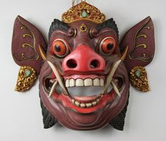 animal balinese masks - Google Search More