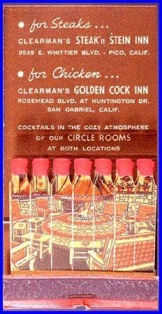 Clearman's Steak'n Stein Inn, Pico, CA