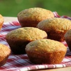 Delicious banana muffins @ http://allrecipes.co.uk