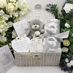Beyond Beautiful Award Winning Baby Boy Hamper. Girl Gift Baskets, Baby Gift Hampers, Baby Shower Gift Basket, Baby Hamper, Baby Baskets, Baby Shower Gifts, Unisex Baby Gifts, Cute Baby Gifts, Baby Gift Box