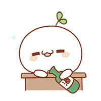 Kawaii Faces, Kawaii Cat, Kawaii Anime, Cartoon Gifs, Cartoon Art, Cute Cartoon, Kawaii Drawings, Easy Drawings, Cute Love Gif