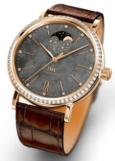 IWC Portofino Midsize Watch Collection, Automatic Moonphase -