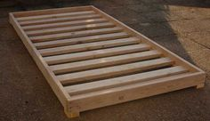 diy bed frame cheap - Google Search