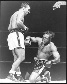 "Before his fight with Marciano, Archie Moore said, ""How's the man gonna hit me?"" Moore was dropped in the 9th round. After the fight Moore was asked which of Marciano's punches hurt him, he said, ""Man, they ALL hurt."""
