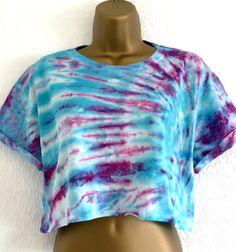 Tie Dye Crop Top T-Shirt M