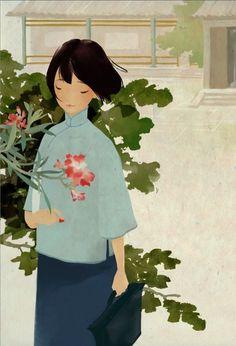 .chinese girl.