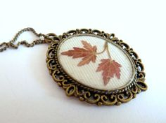 Early morning Real Dried Pressed Flowers in Resin by FloraBeauty, $15.00