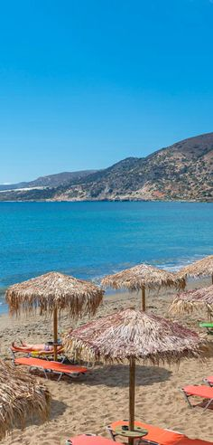 Beach in Paleochora, Chania, Crete