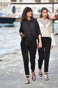 Perfect blackout. Portofino #EmmanuelleAlt