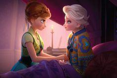 Anna: Best birthday present ever Elsa: Which One? Anna: You letting me take care of you Elsa: Achoo. Anna and Elsa in Frozen Fever ❄️ Frozen Disney, Elsa Frozen, Princesa Disney Frozen, Frozen And Tangled, Frozen Movie, Disney Magic, Frozen Heart, Frozen 2013, Disney Films