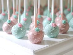 wedding cake pop ideas - Google Search