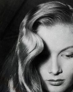 Veronica Lake - lost her movie star fame when she cut her peek a boo  hair do.  During the war effort women were encouraged not to have this hair style in the factories.
