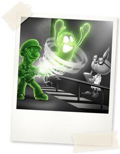Luigi's Mansion™ for the Nintendo family of systems - Professor E. Gadd's Research Journal Luigi's Mansion 3, Super Mario And Luigi, Mario Bros., Anime Couples Manga, Cute Anime Couples, Anime Girls, Luigi's Mansion Dark Moon, Kingdom Hearts Ps4, Character Art