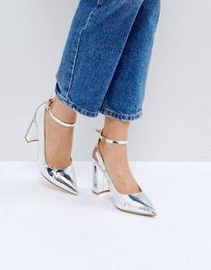 RAID Rue Block Heeled Shoes