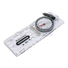 Outdoor equipment !!! Baseplate Compass Map Scale Ruler for Orienteering Camping Traveling