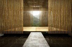 Bamboo House - kengo kuma