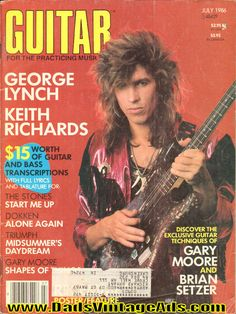 1986 July Guitar for the Practicing Musician Magazine Back-Issue