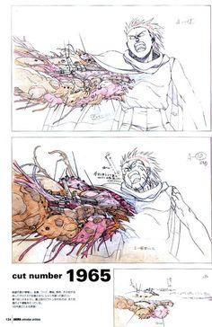 AKIRA Merchandise from the manga and anime- Animation Archives sample page 8 of Tetsuo's Mutating Arm Dougas Manga Art, Manga Anime, Anime Art, Akira Tetsuo, Tetsuo Shima, Storyboard, Cyberpunk, Animation Movie, Akira Anime