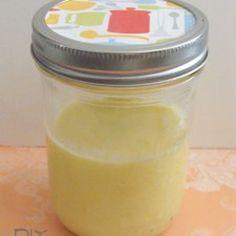 Lemon Souffle diy hand scrub