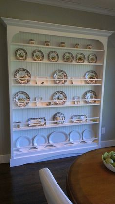 New Plate Racks for China Cabinets