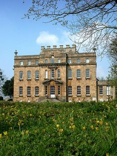 South front in spring, Kings Weston House, Bristol