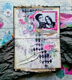 """ScrapMagia: Практическое задание """"Аltered book"""""""