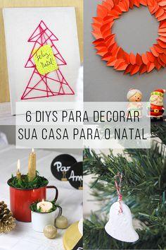 Já é Natal no dcoracao.com! 6 maneiras de decorar a sua casa para deixá-la no clima natalino! // Como decorar a casa para o Natal de maneira barata e criativa! Projetos para inspiração e tutorial (is) faça você mesmo. // faça você mesma, DIY, inspiração, decoração, ideia, tutorial, reciclagem, artesanato, natal, decoração, árvore de Natal, mesa de ceia, lã, presépio, guirlanda, papel, imprimir, enfeite, pendente, vela, caneca, sousplat
