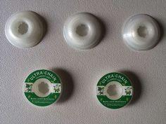 5 Pcs NEW Dental Orthodontics Power Chains Spool Elastic Ultra Short Size Clear #Shaind2104