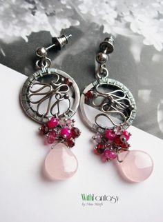 handmade earrings @by nina -reminds me of dream | http://my-diy-crafts-tuts.blogspot.com