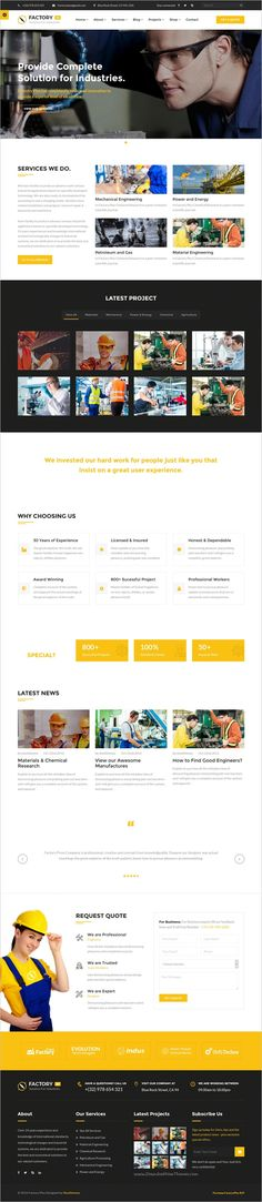 Factory Plus is the best responsive 9in1 #WordPress Theme specifically made for #webdev some sectors like industry, #Factories, Construction, Engineering, Machinery Business, Commodity Business, Power, Rail Business, Airplane, Ship Business, Oil & Gas Business, Petroleum websites download now➩ https://themeforest.net/item/avonmore-premium-creative-multipurpose-wordpress-theme/17364678?ref=Datasata