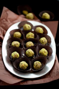 Fruit and nut truffles