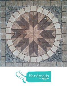 "24"" Tumbled Natural Stone, Travertine and Volcano Limestone Mosaic Medallion Floor or Wall Tile Art from Stone Deals https://www.amazon.com/dp/B01H0IZJ7I/ref=hnd_sw_r_pi_dp_zpSAxbJMPRK34 #handmadeatamazon"