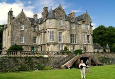 Torosay Castle, island of Mull, Scotland.