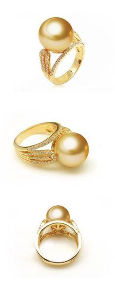 south sea pearl ring