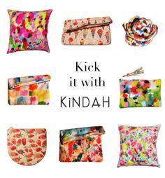take a bite: Kick it With Kindah//kindah khalidy textiles