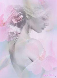 by Lulu Bell Most Beautiful Images, Beautiful Soul, Double Exposure Photography, Multi Picture, Fantasy Women, Divine Feminine, Art Deco Fashion, Color Splash, Pretty In Pink