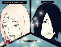 Sakura Haruno ~ Last words by Ahriiah.deviantart.com on @DeviantArt