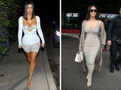 Ким Кардашьян подчеркивает грудь