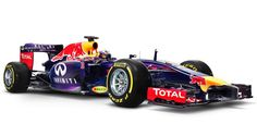 Red Bull RB10 car for 2014 F1 racing